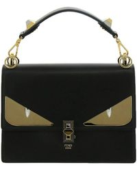 b9276fa62b Fendi - Monster Eyes Kan I Bag In Genuine Leather With Maxi Metal Eyes Bag  Bugs