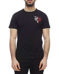 b768e263c68 Lyst - Philipp Plein T-shirt Men in Black for Men