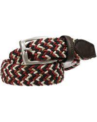 Brooksfield - Cintura Fibbia Classica Elastico Intrecciato - Lyst