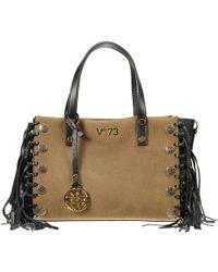 V73 - Borsa Venezia 5 Lire Shopping Piccola Camoscio Con Frange - Lyst