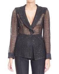 Armani - Blazer Suit Jacket Woman - Lyst