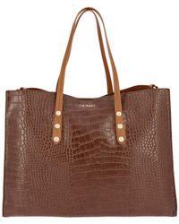 Twin Set Tote Bags Women - Brown