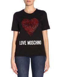 ca24a900 Love Moschino - T-shirt Women Moschino Love - Lyst