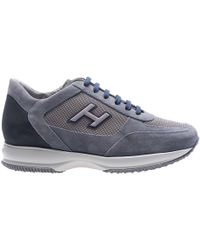 Hogan - New Interactive Blue Sneakers - Lyst