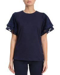 MICHAEL Michael Kors - T-shirt Women - Lyst