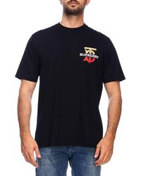 773b0b4a7216 Gucci T-shirt In Pure Cotton With Angry Cat Maxi Patch And Writing ...