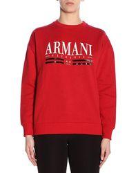 Armani Exchange - Logo Sweater - Lyst
