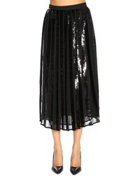 Twin Set - Sequin Ribbon Midi Skirt - Lyst