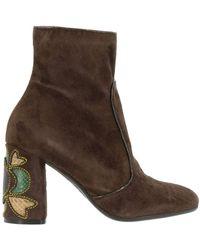Maliparmi - Heeled Booties Shoes Women - Lyst