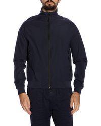ca7fd6982 Henri Lloyd Douglas Bomber Jacket Carbon in Blue for Men - Lyst