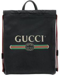 46e76b109469fc Gucci - Technical Canvas Duffle - Lyst · Gucci - Backpack Bags Men - Lyst