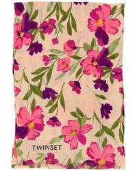 Twin Set - Scarf Women - Lyst