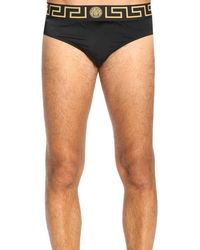 f631f57c366 Lyst - Maillot de bain homme Versace pour homme en coloris Noir