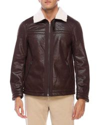 db6c47dc3 Lyst - Men's Armani Exchange Leather jackets Online Sale