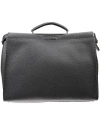 Fendi - Briefcase Other Bags Man Peekaboo Medium - Lyst