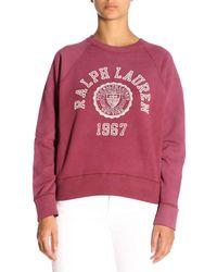 Polo Ralph Lauren - Collegiate Fleece Jumper - Lyst