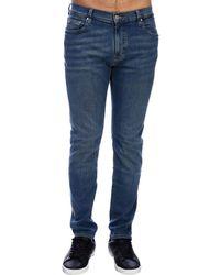 fdd15c01f45c Lyst - Michael Kors Faded Jeans in Blue for Men