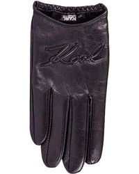 Karl Lagerfeld - Gloves Women - Lyst