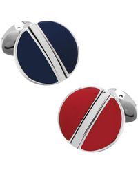 Ox and Bull Trading Co. - Stainless Steel Reversible Cufflinks - Lyst