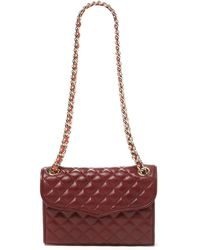 Rebecca Minkoff Affair Mini Quilted Leather Shoulder Bag