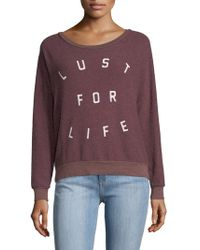 Sol Angeles - Lust For Life Sweatshirt - Lyst