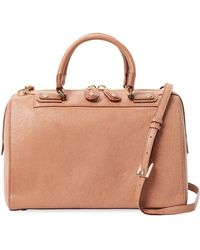 Alice + Olivia - Eloise Leather Satchel - Lyst