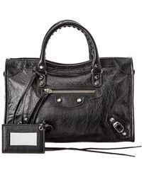 89b143394d Balenciaga - Classic City Small Leather Shoulder Bag - Lyst