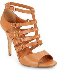 Ivanka Trump - Maxy Strappy Leather Sandals - Lyst