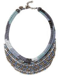 Deepa Gurnani - Embellished Cord Statement Necklace - Lyst