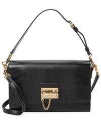 Dolce & Gabbana - Turnlock Satchel Crossbody Bag - Lyst