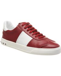Valentino - Leather Sneaker - Lyst
