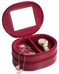 Bey-berk - Leather Lizard 2-level Jewelry Case - Lyst