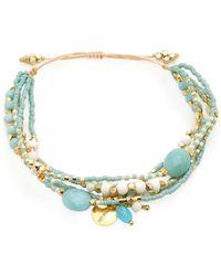 Chan Luu - Mother Of Pearl Beaded Bracelet - Lyst