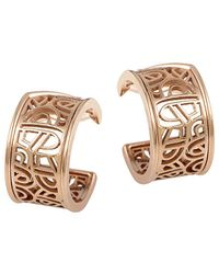 Poiray - 18k Rose Gold Drop Earrings - Lyst
