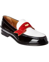 397ff93474c Christian Louboutin Men s Colonnaki Patent Leather Loafer in Black ...