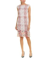 St. John - Sheath Dress - Lyst