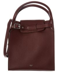 Céline - Small Big Bag Leather Tote - Lyst