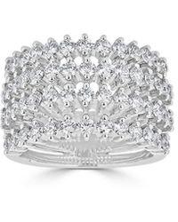 Saks Fifth Avenue Ideal-cut Diamond & 14k Ring - White