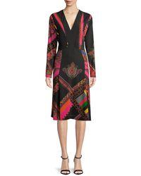 Etro Tapestry Print A-line Dress