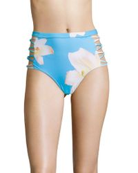 6 Shore Road By Pooja - Mai Tai High-waisted Bikini Bottom - Lyst