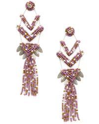 Deepa Gurnani - Neo Statement Earrings - Lyst