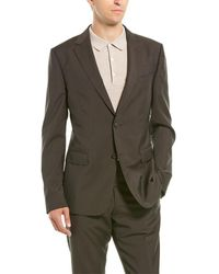 Z Zegna - Z Zenga 2pc Wool Suit With Flat Pant - Lyst