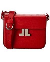 Lanvin Mini Leather Shoulder Bag - Red