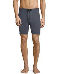 Deus Ex Machina - Flat Front Swim Shorts - Lyst