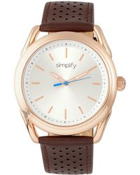 Simplify - Unisex The 5900 Watch - Lyst