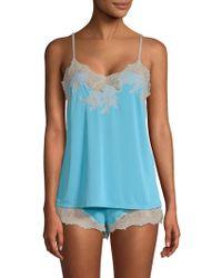 Natori - Enchant Lace Trimmed Sleepwear Set - Lyst