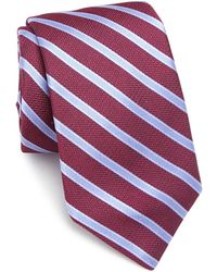 Ike Behar - Striped Silk Tie - Lyst