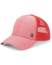 Original Penguin - Mesh-back Baseball Cap - Lyst