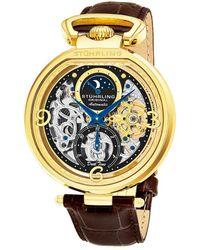 Stuhrling Original - Men's Alligator Watch - Lyst