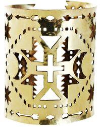Pamela Love | Illuminas Brass Southwestern Cuff | Lyst